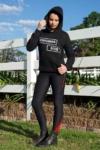 performa ride hoodie black