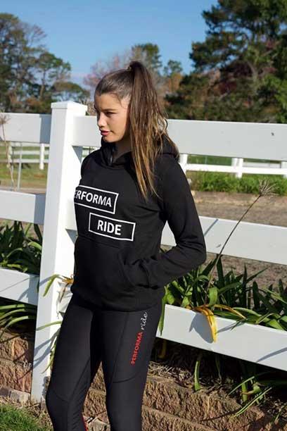performa ride hoodie black1