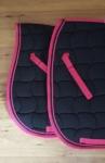 performa ride saddle pad pink