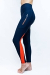 performa ride horse riding tights ink orange