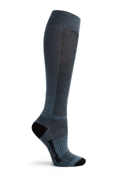 wright knee high horse riding socks grey right side