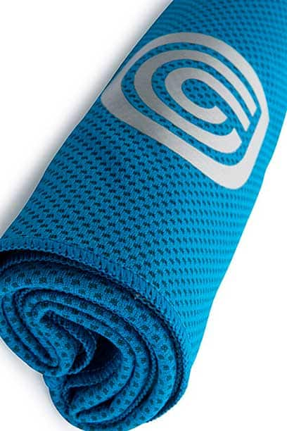 coolcore blue towel
