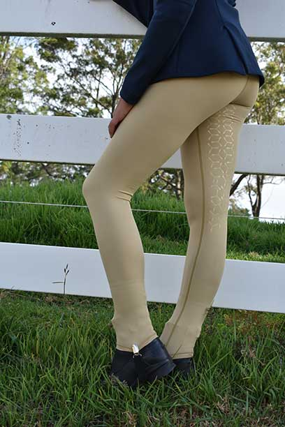 performa ride beige horse riding tights 2