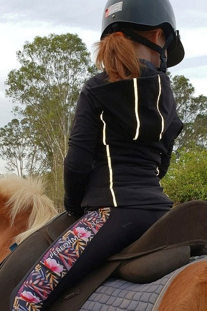 performa ride reflective riding jacket2