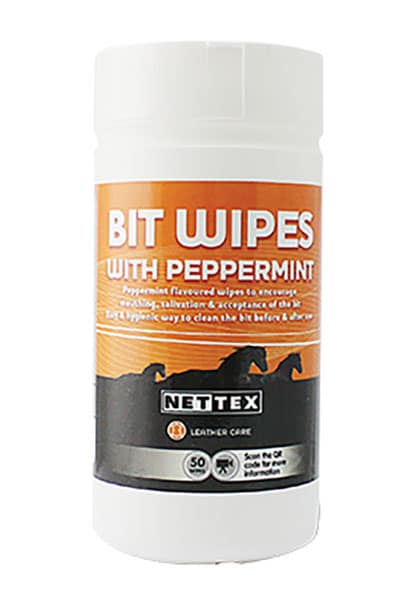 nettex bit wipes with peppermint