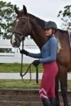 performa ride burgundy flexion horse riding tights