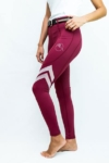 horse riding tight flexion burgundy performa ride