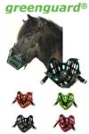 horse grazing muzzle banner greenguard