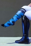 horse freedom horse riding socks pattern limited edition left side performa ride