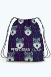 wolf pattern drawstring bag limited edition performa ride