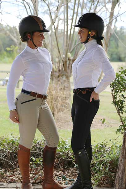 findlay breech black taupe side performa ride
