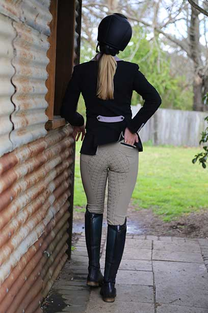 findlay breech taupe back performa ride