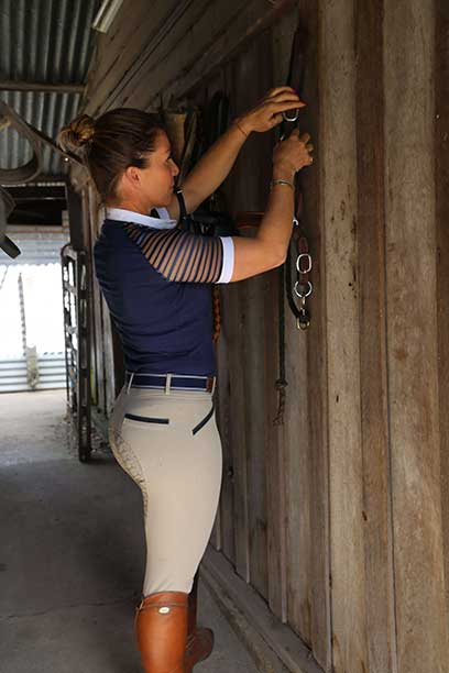 findlay breech taupe right side performa ride