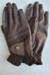 horse riding glove brown performa ride