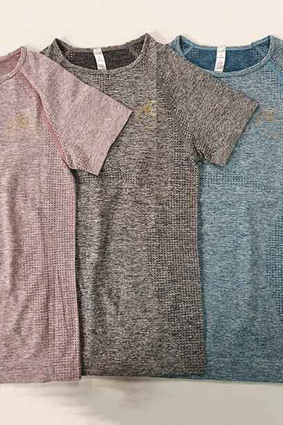 seamless short sleeve shirt three colours performa ride
