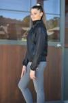 focus rain jacket black left side performa ride