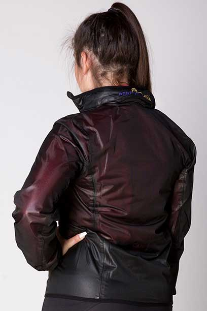 focus rain jacket no hood back left performa ride