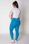 disrupt summer horse riding tights aspen blue back left b performa ride