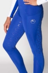 disrupt summer horse riding tights royal blue front left close up a performa ride