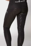 double pocket full seat equestrian riding tights black back left b performa ride