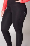 double pocket non stick equestrian riding tights front left close up a performa ride
