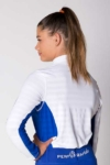 equestrian technical shirt white blue back b performa ride