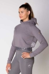 fierce equestrian riding hoodie grey front left b performa ride