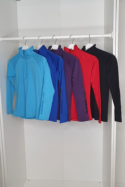 equestrian top chill base layer multiple colours spread out performa ride