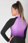 base layer equestrian top purple purple ombre back performa ride