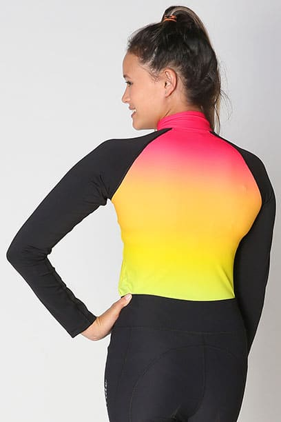 base layer equestrian top rainbow ombre back performa ride