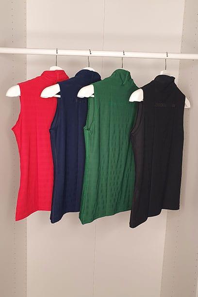 equestrian summer sleeveless top slim fit black navy red green closet performa ride