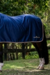 midnight rose luxe horse rug combo back left half performa ride