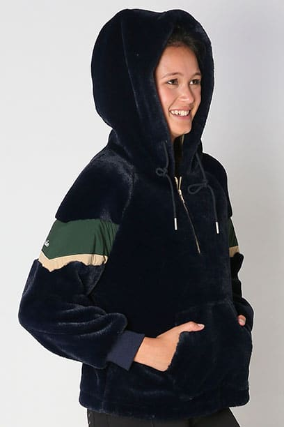equestrian snug hoodie front right close hood up performa ride