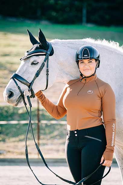 disrupt baselayer midseason equestrian top autumn front performa ride